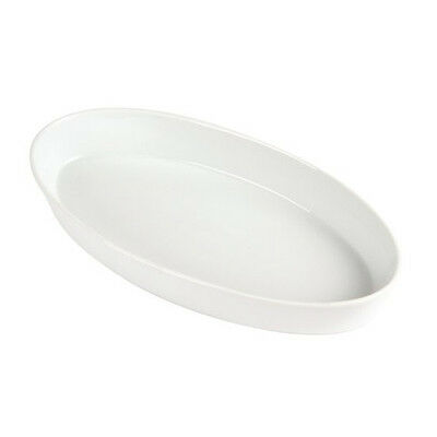 Ceramic Oval Sole Dish Oven Tableware Roasting Crumble Dessert Serving Pie Bowl