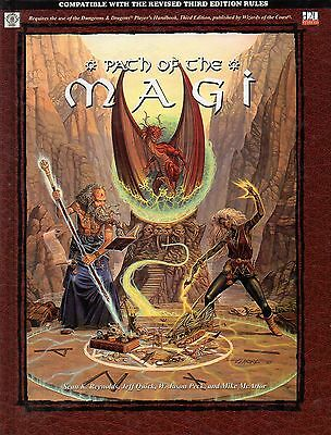 PATH OF THE MAGI-Dungeons & Dragons-D&D-d20-RPG-Roleplaying Game-(HC)-new