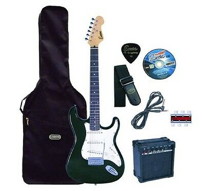 Encore KC3T Black Electric Guitar Outfit  - Complete package ready to play