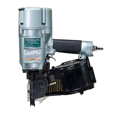 "Hitachi NV83A3 16 Degree 3-1/4"" Coil Framing Nailer w/FACTORY WARRANTY BRAND NEW"