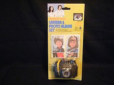 Donny & Marie Camera & Photo Album Set 1976