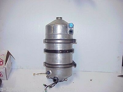 Patterson 4 Gallon Aluminum Dry Sump Oil Tank & Heaters with Brackets DT1 NASCAR