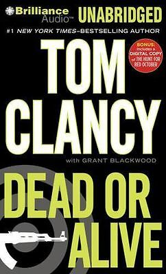 DEAD OR ALIVE unabridged audio book on CD by TOM CLANCY ( 21 Hours!) Brand New!