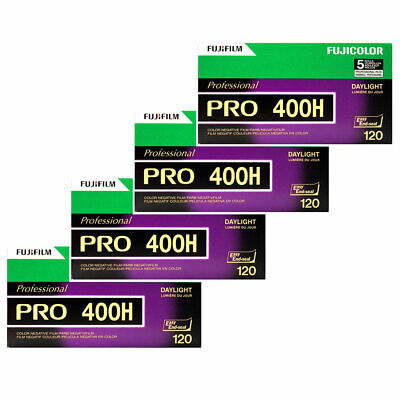 (20 Rolls) Fuji Pro 400H 120 Color Negative Film NPH-400 Fujifilm FRESH Exp:2018