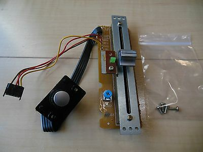 Technics USED pitch fader control slider with PCB & knob for SL-1200/1210 mk3D/5