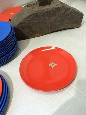 "50 X Sushi Train Entre Plate Melamine 16cm / 6.4"" Wide Traditional Round NOS"