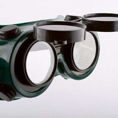 Lot 2 - Cutting Grinding Welding Goggles With Flip Up Glasses