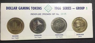 1966 Series Franklin Mint Dollar Gaming Tokens - Group 1 - Number 3048