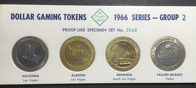1966 Series Franklin Mint Dollar Gaming Tokens - Group 2 - Number 3048