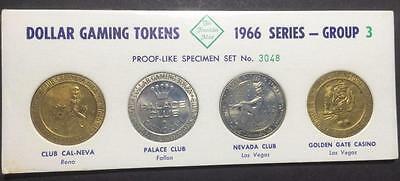 1966 Series Franklin Mint Dollar Gaming Tokens - Group 3 - Number 3048