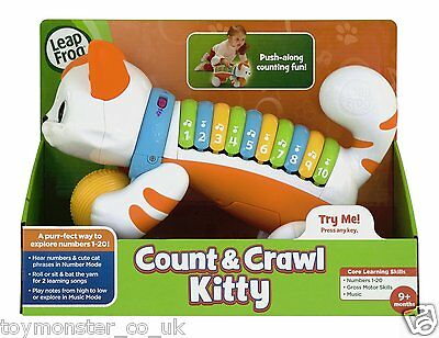 LeapFrog Count and Crawl Kitty Musical Learning Toy