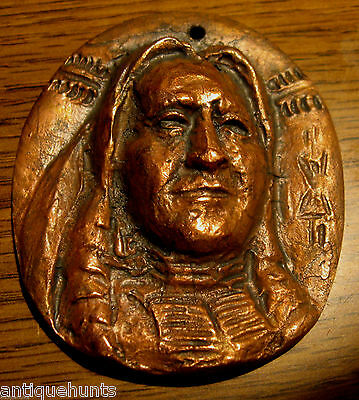 1868 Fort Laramie Sioux Nation Indian Peace Medal