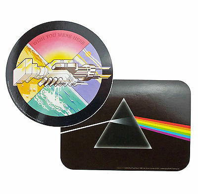 Pink Floyd Dark Side of The Moon & WYWH Vinyl Stickers New Official Band Merch