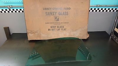 New NOS LOF EZ Eye Windshield Curved Glass Left Half 1952 Chevrolet Tinted