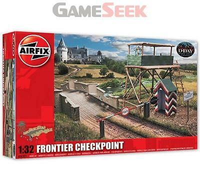 Airfix 1:32 Scale Frontier Checkpoint Model Kit