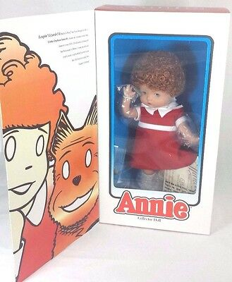 "MIB Robert Tonner Effanbee Annie Vinyl Collector Doll 14""  Limited Edition 2004"