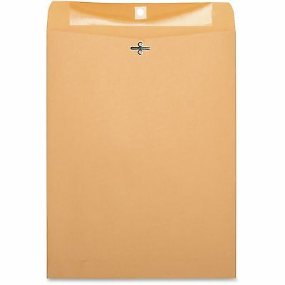 "Business Source Clasp Envelopes 28 lb. 10""x13"" 100/BX Brown Kraft 36665"