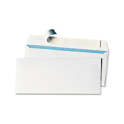 UNIVERSAL Peel Seal Strip Security Envelope #10 4 1/8 x 9 1/2 White 100/Box