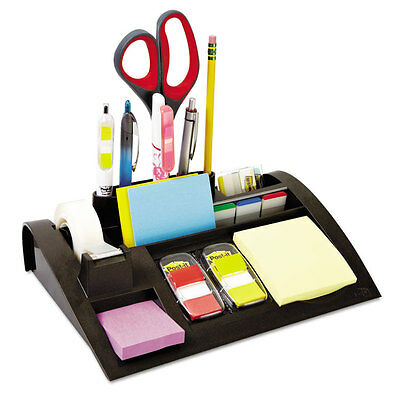 """Post-it Notes Dispenser with Weighted Base Plastic 10 1/4"""" x 6 3/4"""" x 2 3/4"""""""
