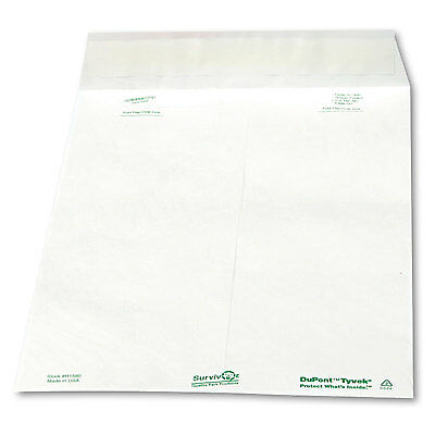 Survivor Tyvek Mailer Side Seam 10 x 13 White 100/Box R1580