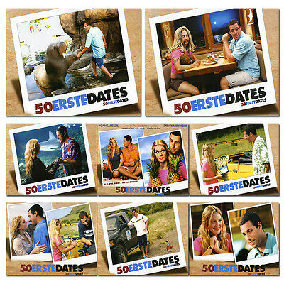 50 First Dates Set of 8 German Lobby Cards (LOB 11)
