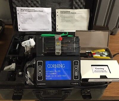 Corning Siecor FuseLite Splicer V2.2
