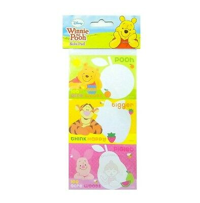 Super Cute Disney Winnie The Pooh 30 Sheets Perforated Notepad #c