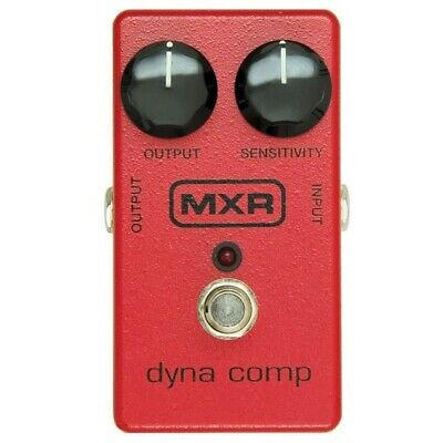 New Dunlop MXR M102 Dyna Comp Compressor Guitar Effects Pedal, Red