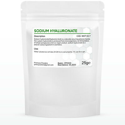 Pure Hyaluronic Acid Powder Cosmetic For Serums And Gels