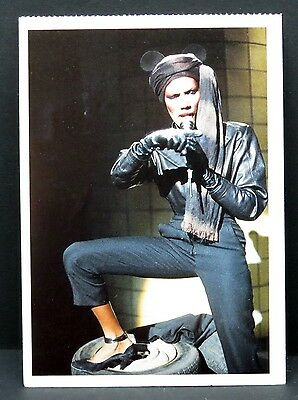 Grace Jones - AK - Foto Autogramm-Karte - Photo Postcard (Lot F7787