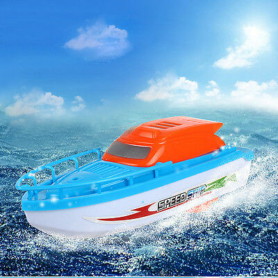 Electric Speed Mini Speedboat Boat Toy For Baby Kids Water Bath Bathtub Toys