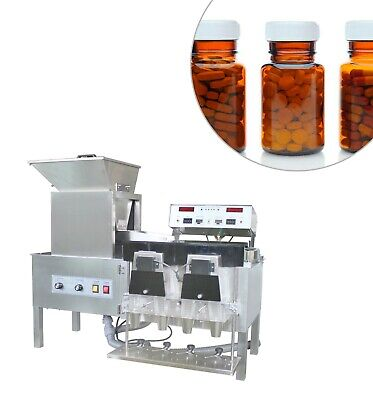 220V YL-4 Semi-auto tablet and capsule counting machine 4 bottles/time Counter