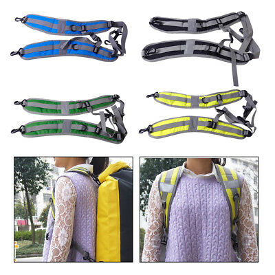 Replace Shoulder Strap Belt Padded Dry Bag Camping Hiking Sack Backpack Pouch