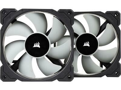 Corsair CO-9050039-WW 120mm ML120, 120mm Premium Magnetic Levitation PWM Fan (2-