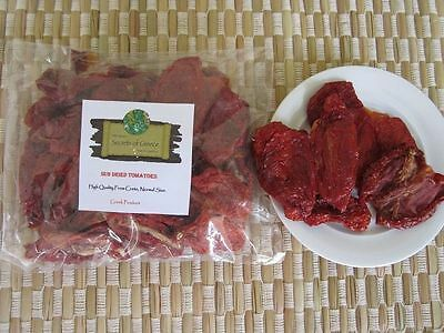 High Quality Greek Sun Dried Tomatoes,Normal Size In Slices From Crete.