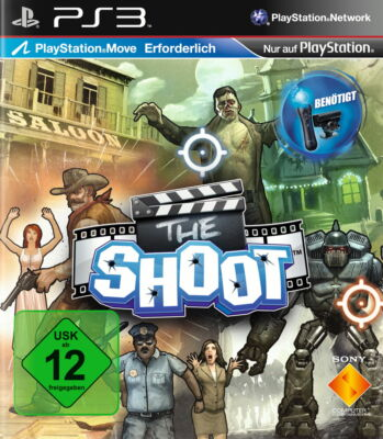 Sony Playstation 3 PS3 Spiel The Shoot Move Erforderlich
