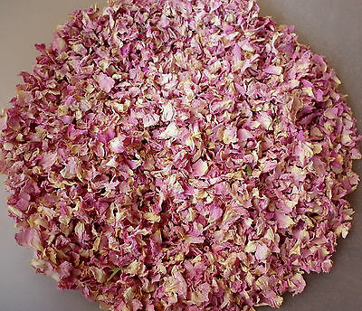 Dried Flower Confetti Pale Pink Dried Rose Petals For Wedding Confetti Cones