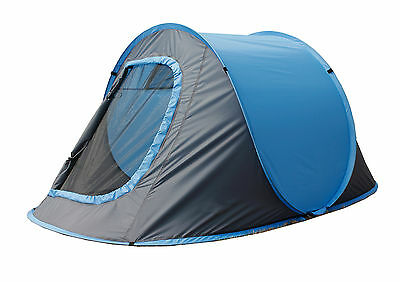 4 MAN PERSON POP UP TENT camping hiking festival instant opening caravan