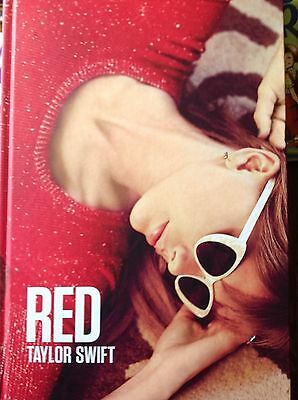 Taylor Swift RED Album Photo Book...Collector's Item...
