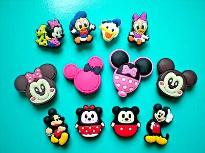 Shoe Button Charm For Bracelet For Accessories Disney Lace Adapter