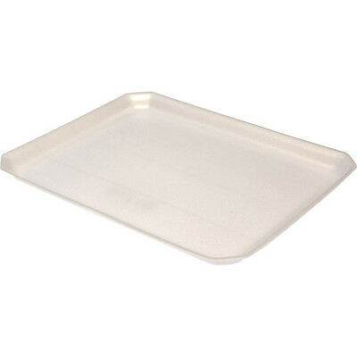 "Foam Plix food trays 11"" x 9"" ctn 500"