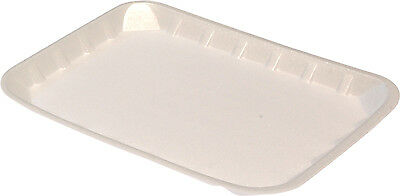 "Foam Plix food trays 7"" x 5"" ctn 1000"