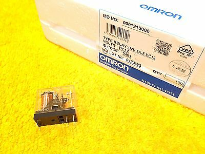***new*** Omron G2R-1A-E Relay Dc12 16 Amp @ 250 Vac  16 Amp @ 30 Vdc