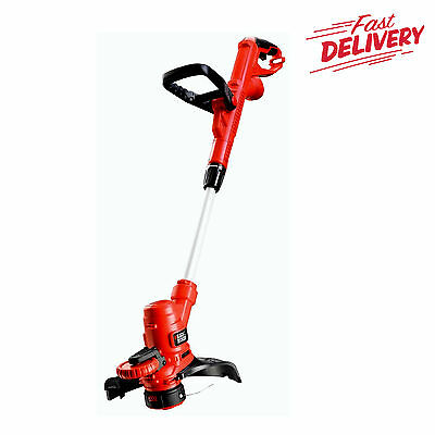 Black + Decker Corded Grass Strimmer,Autoselect Technology,Power and Speed 550W