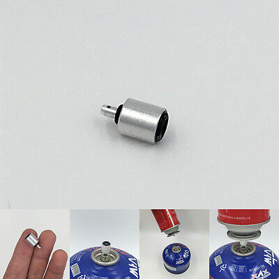 gas refill adapter outdoor camping stove cylinder accessories butane canister