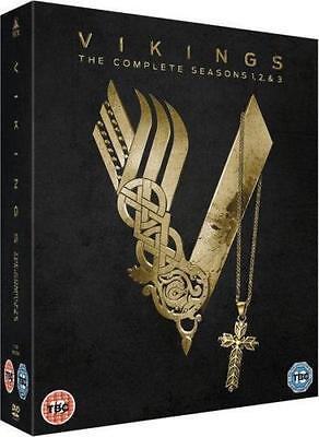 VIKINGS - Complete TV Series 1-3 Collection Boxset (NEW DVD)