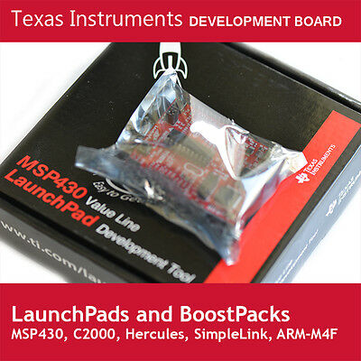 Texas Instruments Development Boards (LaunchPad, BoosterPack, MSP430, SensorTag)