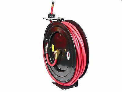 50 Ft 1/2 Retractable Professional Air Hose Reel