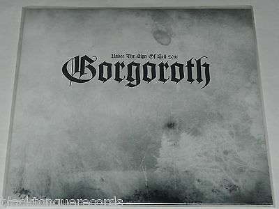Gorgoroth Under The Sign Of Hell 2011 LP Picture Disc Limited 2016 Release NEW