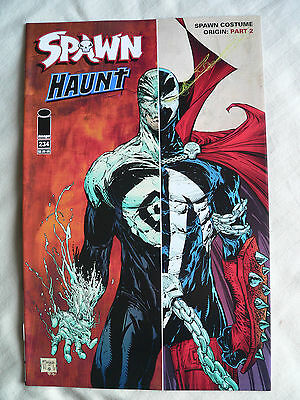 NEW UNREAD SPAWN #234 COSTUME ORIGIN Pt 2 TODD McFARLANE HAUNT IMAGE